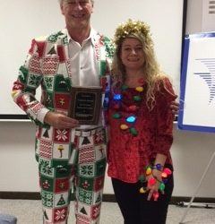 This year's holiday celebration was extra special as we celebrated two milestone anniversaries!