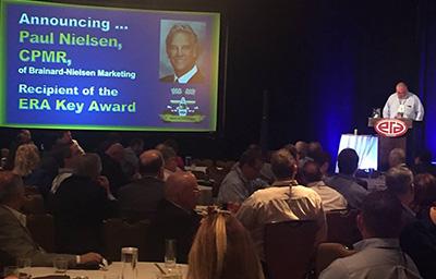 ERA Presents Key Award to Paul Nielsen