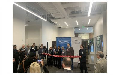 Laird Performance Materials' Ribbon Cutting Ceremony