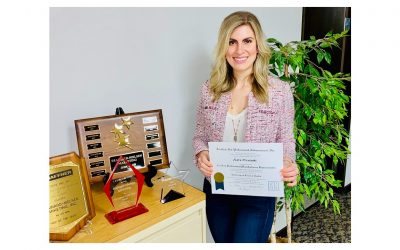 Kara Prentoski Earns Highest Sales Person Designation, CPMR