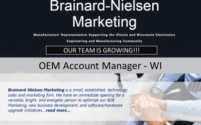 WI OEM Account Manager Position Available